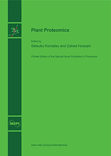 Large book cover: Plant Proteomics
