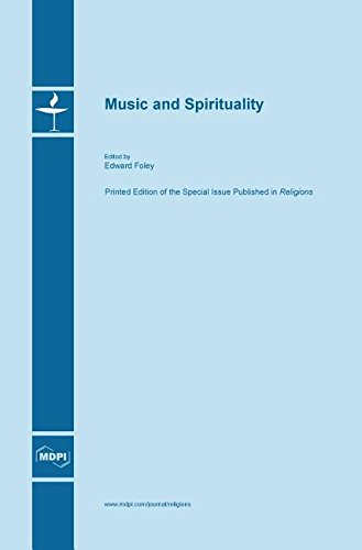 Large book cover: Music and Spirituality