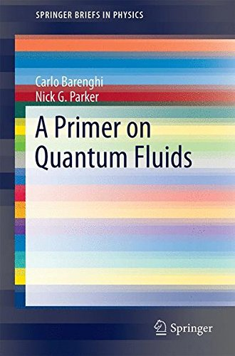 Large book cover: A Primer on Quantum Fluids
