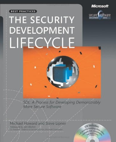 Large book cover: The Security Development Lifecycle