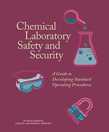 Large book cover: Chemical Laboratory Safety and Security