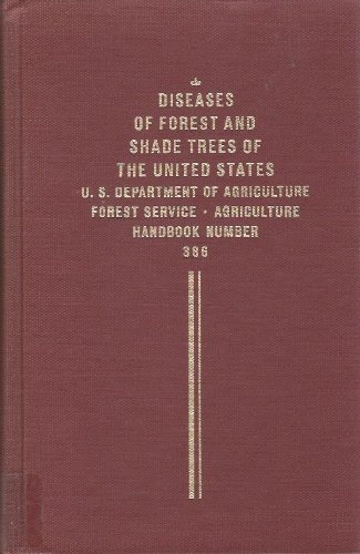 Large book cover: Diseases of Forest and Shade Trees of the United States