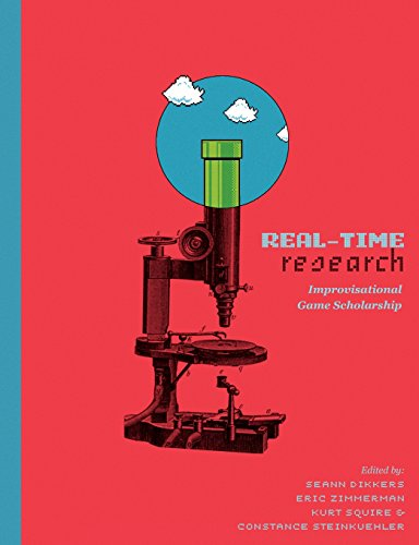 Large book cover: Real Time Research: Improvisational Game Scholarship
