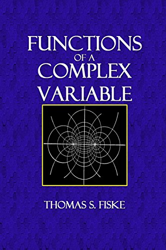 Large book cover: Functions of a Complex Variable