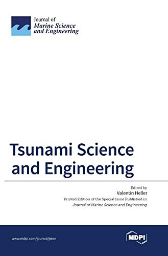 Large book cover: Tsunami Science and Engineering