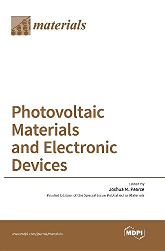 Large book cover: Photovoltaic Materials and Electronic Devices