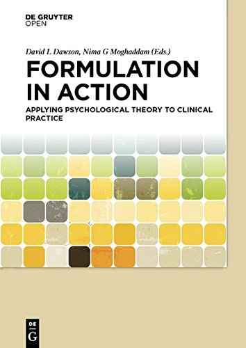 Large book cover: Formulation in Action: Applying Psychological Theory to Clinical Practice