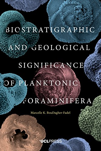 Large book cover: Biostratigraphic and Geological Significance of Planktonic Foraminifera
