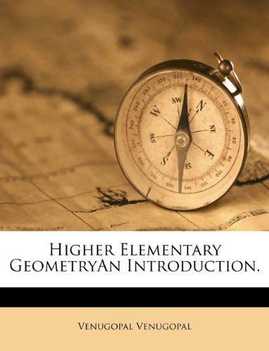 Large book cover: Higher Elementary Geometry