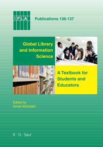 Large book cover: Global Library and Information Science