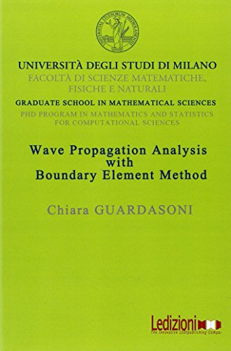 Large book cover: Wave Propagation Analysis with Boundary Element Method
