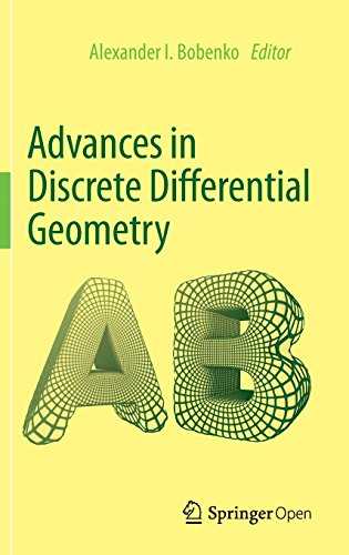 Large book cover: Advances in Discrete Differential Geometry