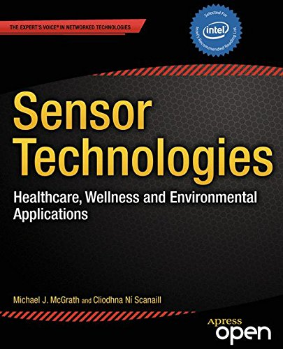 Large book cover: Sensor Technologies: Healthcare, Wellness and Environmental Applications