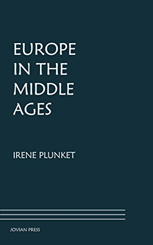 Large book cover: Europe in the Middle Ages