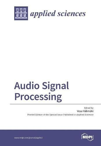 Large book cover: Audio Signal Processing