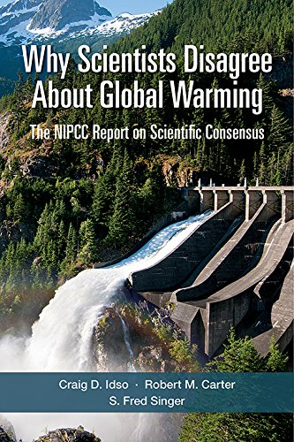 Large book cover: Why Scientists Disagree about Global Warming