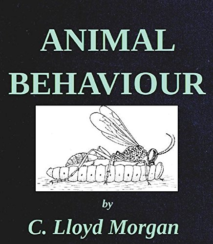 Large book cover: Animal Behaviour