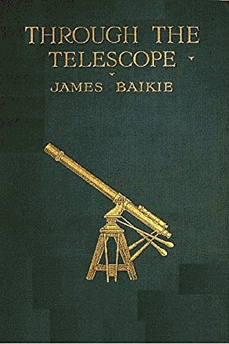 Large book cover: Through the Telescope