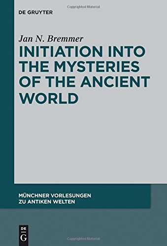 Large book cover: Initiation into the Mysteries of the Ancient World