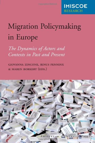 Large book cover: Migration Policymaking in Europe