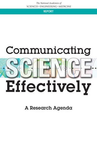 Large book cover: Communicating Science Effectively