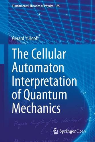 Large book cover: The Cellular Automaton Interpretation of Quantum Mechanics