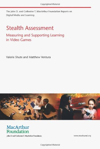 Large book cover: Stealth Assessment: Measuring and Supporting Learning in Video Games