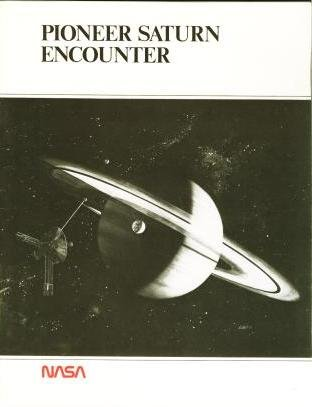 Large book cover: Pioneer Saturn Encounter