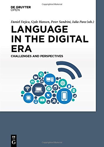 Large book cover: Language in the Digital Era: Challenges and Perspectives