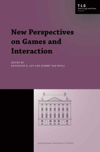 Large book cover: New Perspectives on Games and Interaction