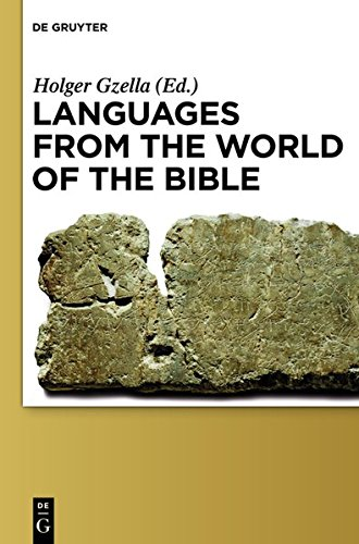 Large book cover: Languages from the World of the Bible