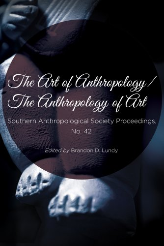 Large book cover: The Art of Anthropology / The Anthropology of Art