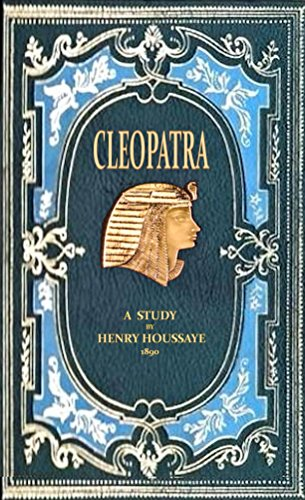 Large book cover: Cleopatra: A Study