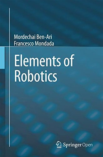 Large book cover: Elements of Robotics