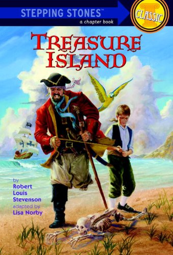 Large book cover: Treasure Island