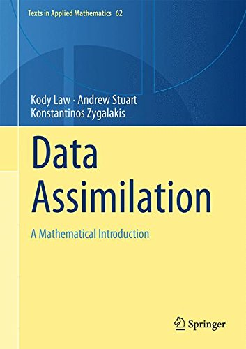 Large book cover: Data Assimilation: A Mathematical Introduction
