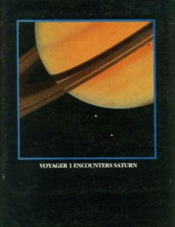 Large book cover: Voyager 1 Encounters Saturn