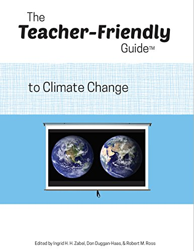 Large book cover: The Teacher-Friendly Guide to Climate Change