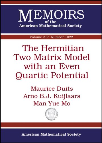 Large book cover: The Hermitian Two Matrix Model with an Even Quartic Potential