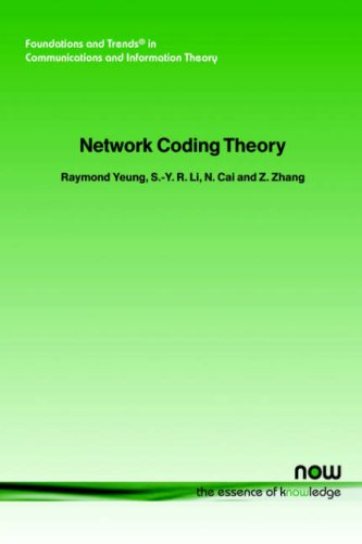 Large book cover: Network Coding Theory