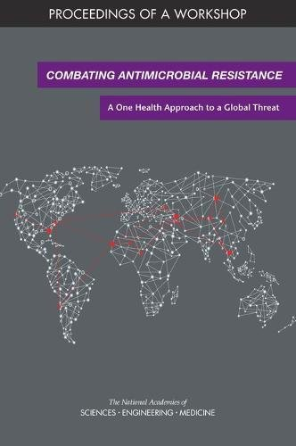 Large book cover: Combating Antimicrobial Resistance