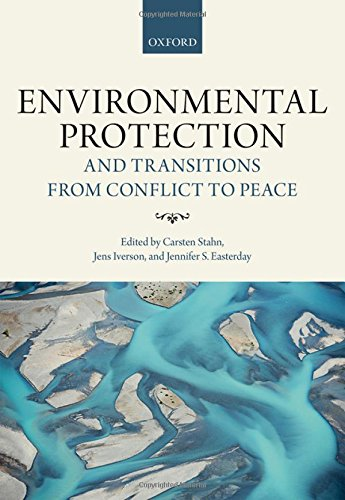 Large book cover: Environmental Protection and Transitions from Conflict to Peace