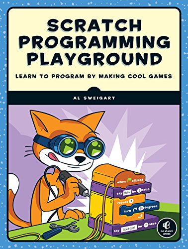 Large book cover: Scratch Programming Playground