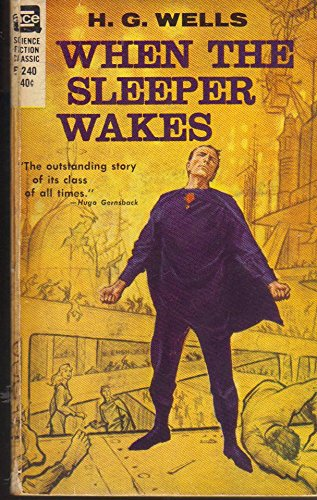 Large book cover: When the Sleeper Wakes