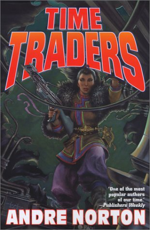 Large book cover: The Time Traders