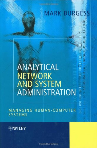 Large book cover: Analytical Network and System Administration