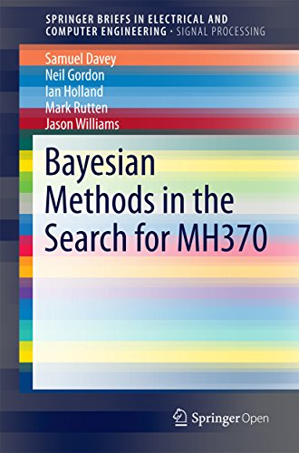 Large book cover: Bayesian Methods in the Search for MH370