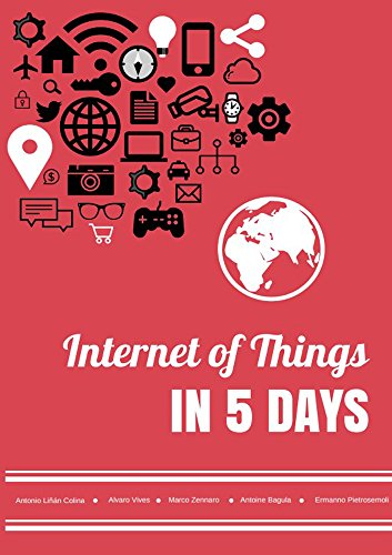Large book cover: Internet of Things in 5 Days