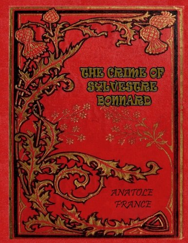 Large book cover: The Crime of Sylvestre Bonnard