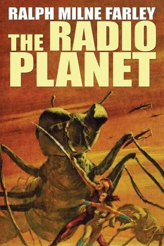 Large book cover: The Radio Planet